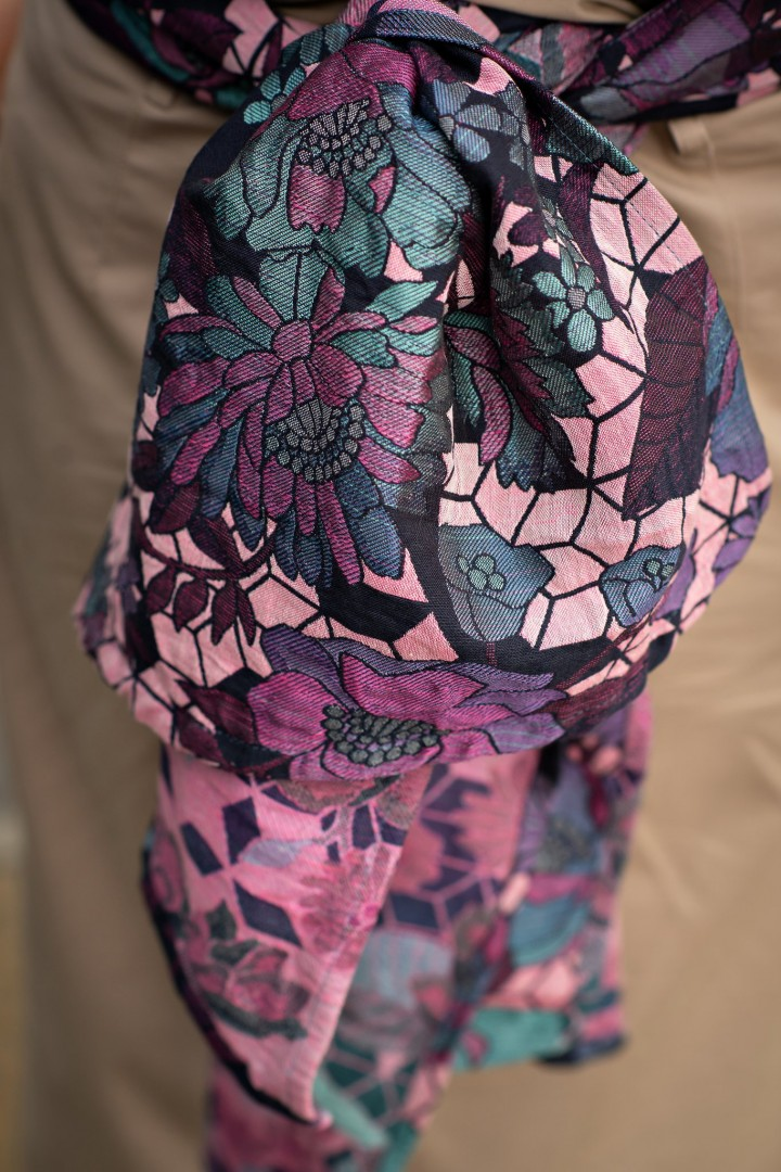 Woven Wings Floral Geo Every Breath